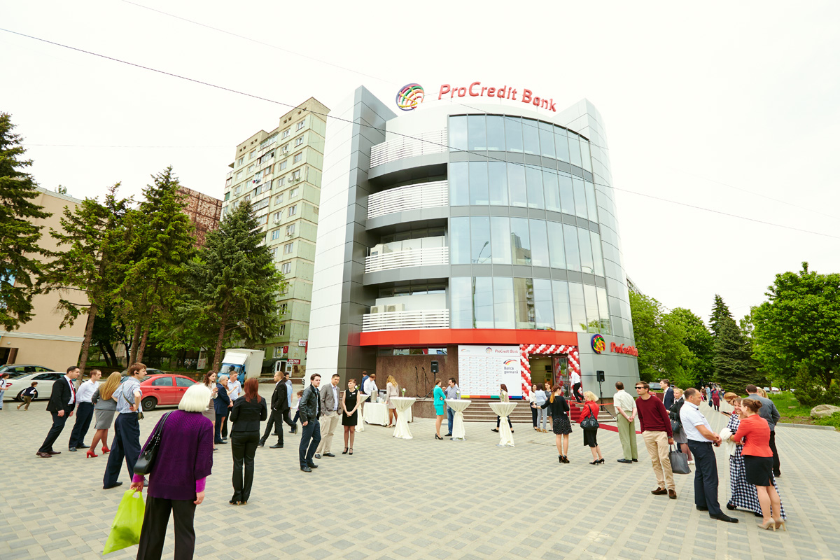 ... Located In Botanica Sector, Opened Its Doors For People Living And  Visiting Chisinau. Officials, Main Partners And Customers Of The Bank Were  Present At ...